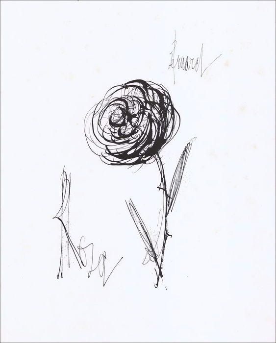Bernard Buffet - The rose