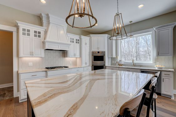 Beautiful Cambria Countertops In Brittanicca Gold