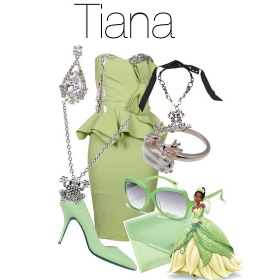 Princess Tiana Shoes: Character Inspired Outfits