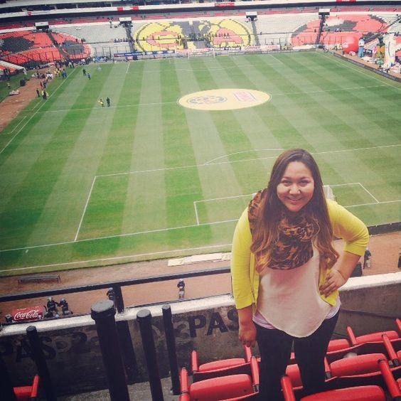 Final América vs Tigres, Estadio Azteca. Sport Journalist