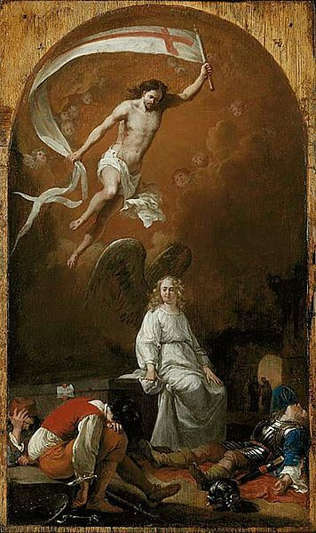 """The Resurrection"" by Bartholomeus Breenbergh, c. 1635"