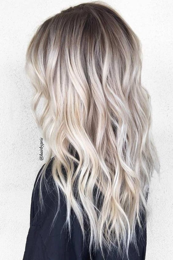 23 Beautiful Platinum Blonde Hair Color Ideas Hair Styles Ombre Hair Blonde Platinum Blonde Hair