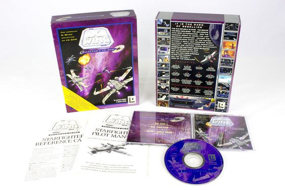 Star Wars: X-Wing Collectors Edition by Lucas Arts, 1993, Flight, Real-Time