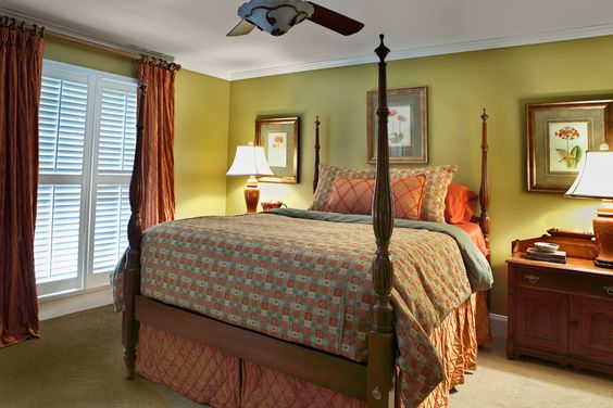 Valerie Garrett Interior Design. Macon, Georgia. Master Bedroom.
