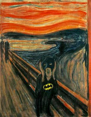 BAT - BLOG : BATMAN TOYS and COLLECTIBLES: THE BATMAN IN ART HISTORY : Funny Humor Photos