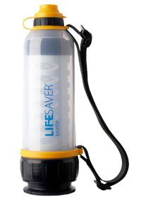 The LIFESAVER bottle is the World's first and only water bottle to remove all bacteria, viruses, cysts, parasites, fungi and all other microbiological waterborne pathogens without the aid of any foul tasting chemicals like iodine or chlorine or the need for any power or UV light. It complies with all British, US and European Drinking Water Regulations for microbiological Reduction as tested and certified by the London school of Hygiene & Tropical Medicine.