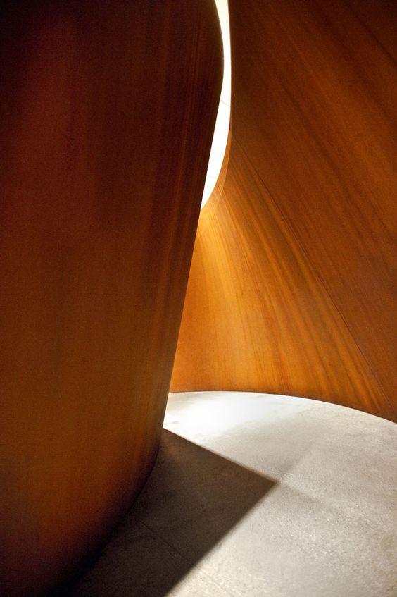 richard serra sculpture   stopped