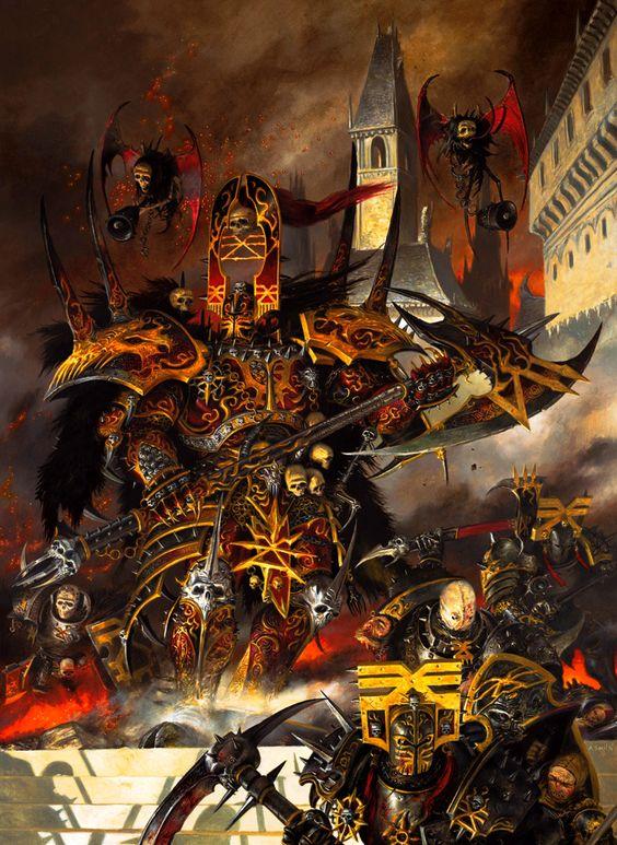 Khorne chaos god