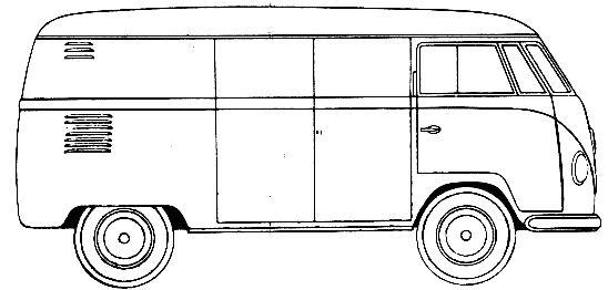 Van Line Drawing