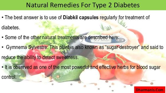 Natural Remedies For TYPE2 Diabetes