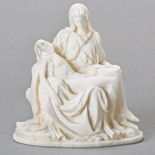 Collectible Vintage Pieta Statue Easter Decor Religious Statue Michelangelo/'s The Pieta Religious Gift