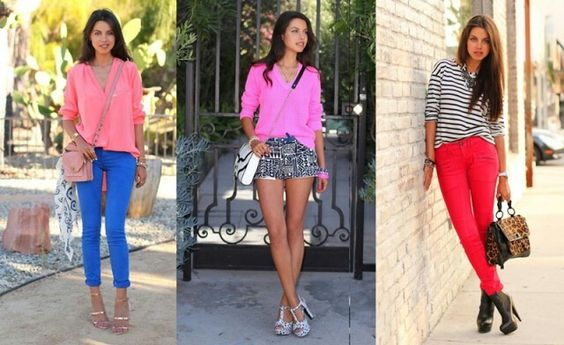 Love the bright colors and how you can mix and match different styles and colors!