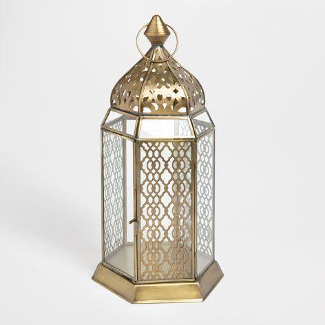 lanterne arabesque maison d corations de lanterne et zara home. Black Bedroom Furniture Sets. Home Design Ideas
