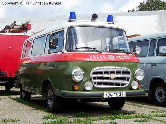 smh barkas | Barkas B 1000 VK - Verkehrskontrollfahrzeug, Volkspolizei, VoPo, Bus ...