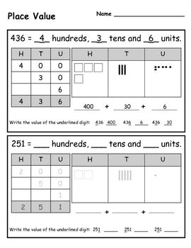 here 39 s a series of pages for students to work on place value concepts with expanded notation and. Black Bedroom Furniture Sets. Home Design Ideas