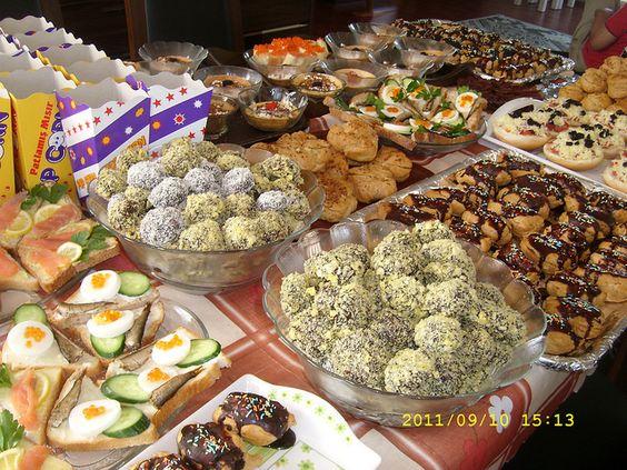 homemade cookies and snacks