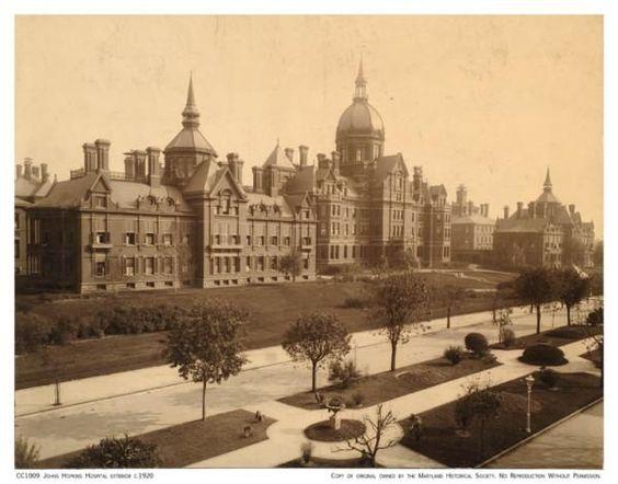 Old Baltimore Johns Hopkins Hospital Exterior Recipes To Cook Pinterest Baltimore