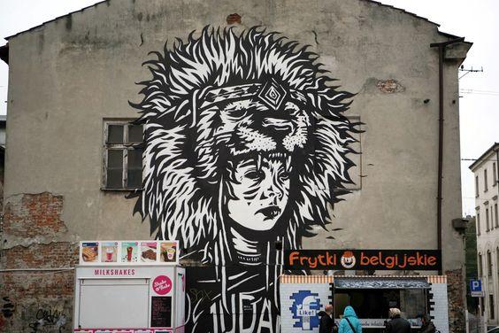 Street Art Krakow, PL
