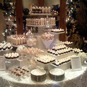 White Theme Dessert Bar