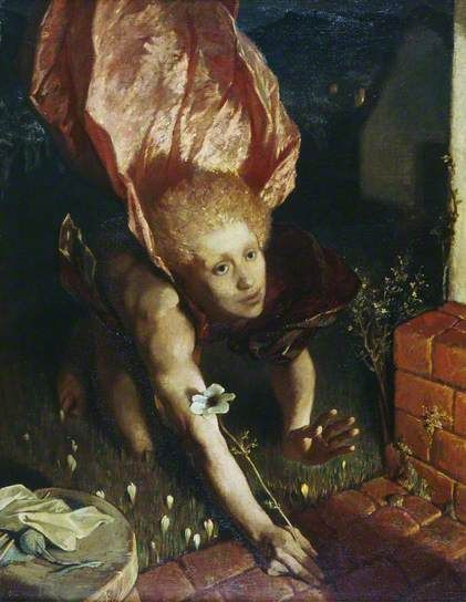 The Angel of the Annunciation Glyn Warren Philpot 1925