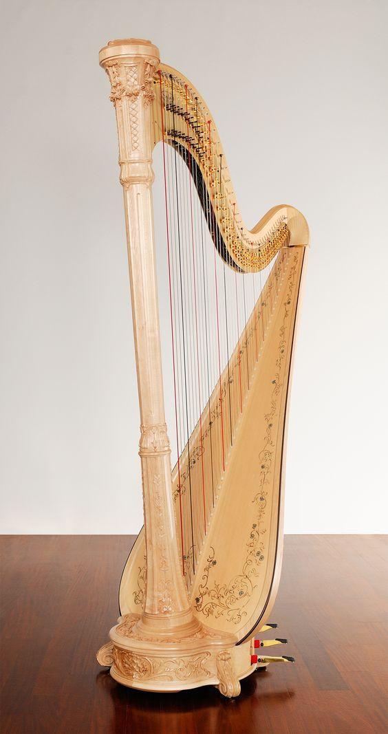 salvi pedal harp i play the harp for weddings teas. Black Bedroom Furniture Sets. Home Design Ideas