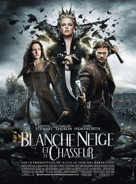 Poster français pour BLANCHE NEIGE ET LE CHASSEUR