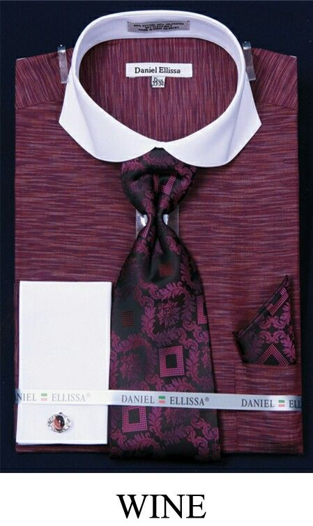 Rich wine colored shirt with matching tie handkerchief for Wine colored mens dress shirts