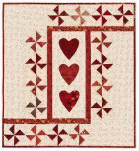 Hearts and pinwheels