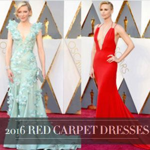 celebrity and red carpet dresses