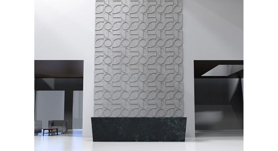 Ecoustic Crescent Tile Acoustic Wall Wall Clips Wall Tiles