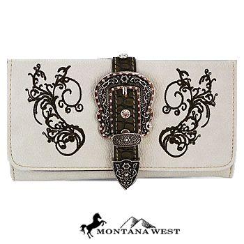 ♥ Her Station Handbags Wholesale ♥ Montana West Handbags, Wholesale Western Style Belts, Flip Flops, Sunglasses, Nicole Lee Hanbags, Wholesale handbags, Dallas, TX : Buckle Design Western Wallet-Beige