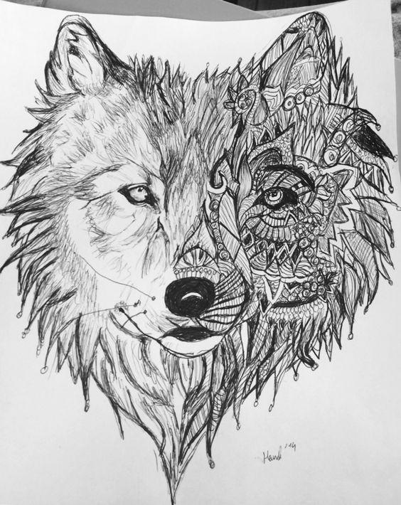 Kugelschreiber Zeichnung ,2014