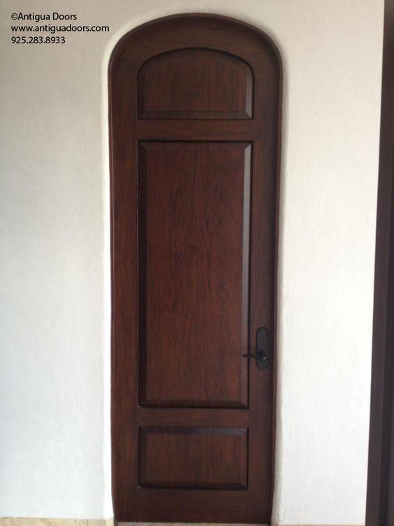 Extra Tall Interior Door With Bull Nosed Jamb. Www.antiguadoors.com