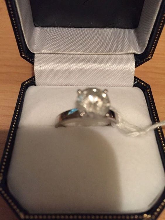 2.05ct Round Brilliant Cut Diamond Solitaire White Gold Ring | United Kingdom | Gumtree