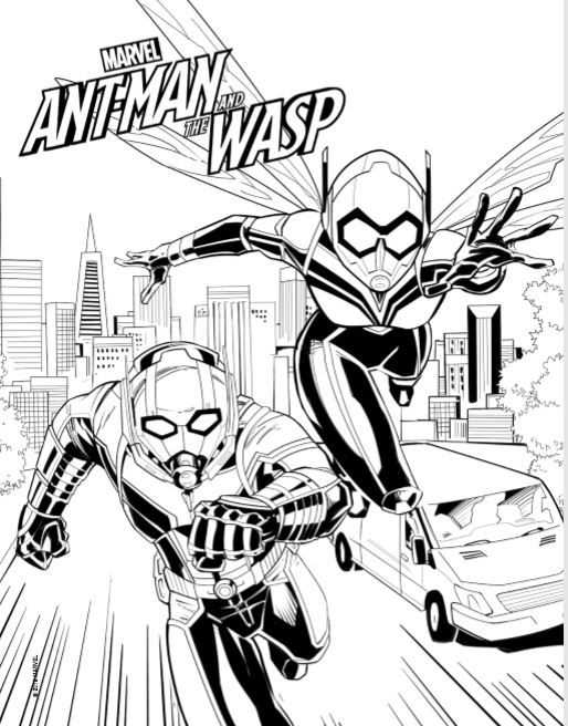 Ant Man Coloring Pages Avengers Coloring Avengers Coloring