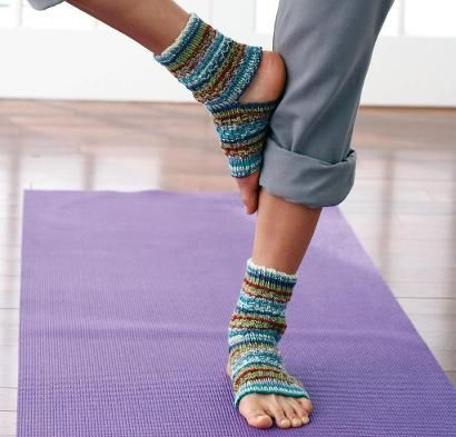 Yoga Socks Kit - Knitting Kit includes Yarn & Pattern!