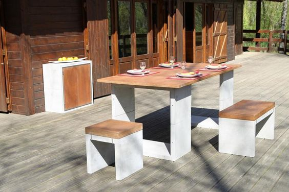 Private by AMOP | Casa e Jardim | Mobiliário de Jardim | Decoração de Exteriores. : Mobiliário Modular Concrete Kit