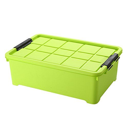 Zddab Transparent Plastic Storage Box With Lid Extra Large Stackable Storage Container Hous Plastic Box Storage Storage Boxes With Lids Storage Box On Wheels
