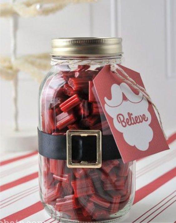 Ideas baratas regalos de Navidad para los colegas - Feria Maestros - hecho a mano, hechas a mano #regalos #originales                                                                                                                                                      Más