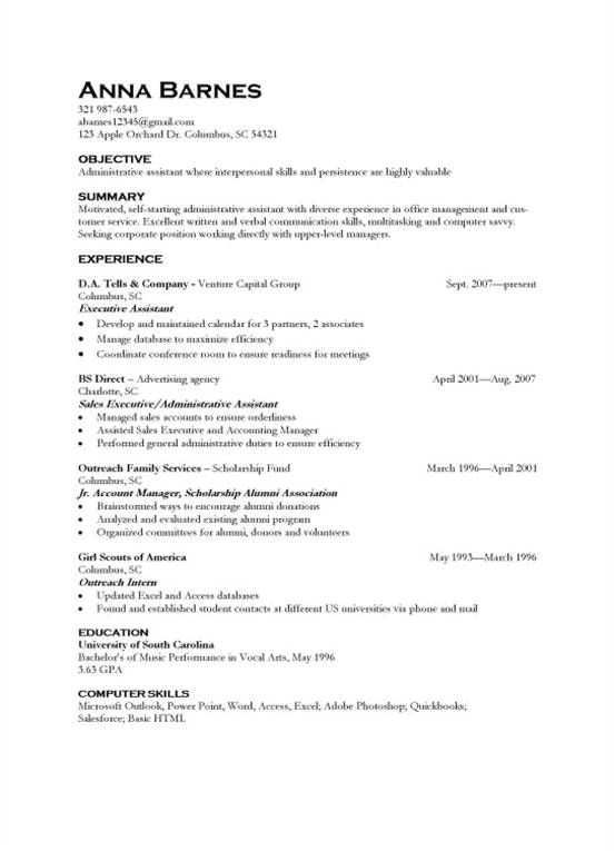 Sample Resume Format For 8 Months Experience Resume Skills