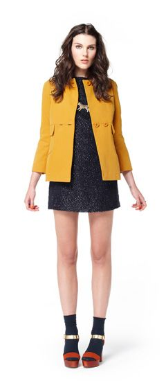 Seriously wanting this coat from the new Gorman collection!