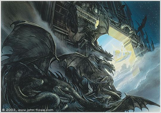 The Door of Night ~ John Howe