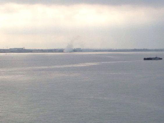 News Taranto. Fumo a San Vito: addestramento della Marina Militare