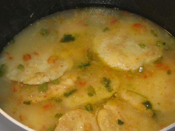 Sopa De Capirotadas Hondurenas (Cheese and Cornmeal Cake ...