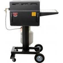 Cajun Bayou Broiler 20-Inch Gas Broiler On Cart