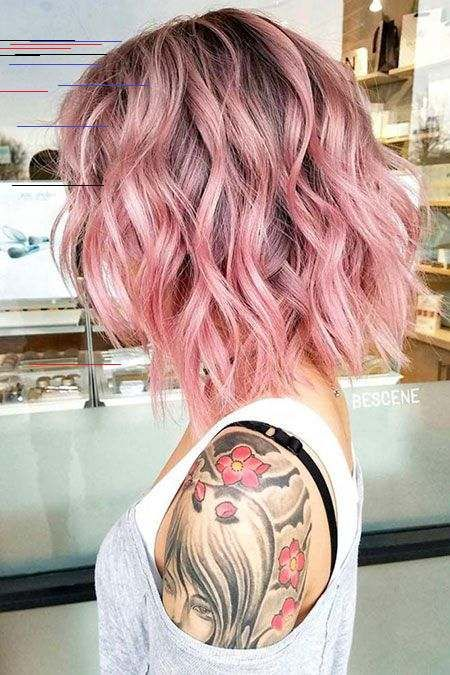 Pink Neue Frisur