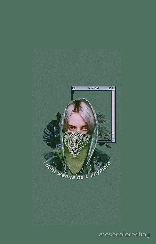 Billie Eilish Green Lyrics Aesthetic Wallpaper Iphone Wallpaper Ponsel Lucu