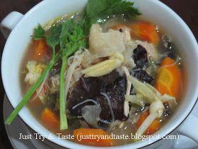 Resep Sup Kimlo Resep Sup Resep Masakan Masakan