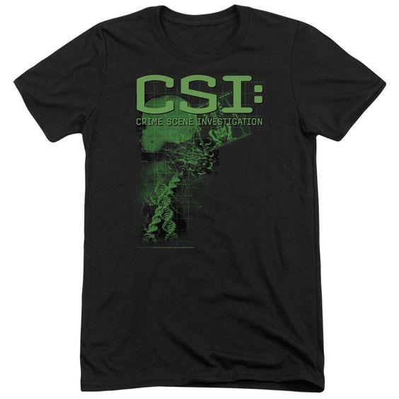 CSI/EVIDENCE-S/S ADULT TRI-BLEND-BLACK-2X