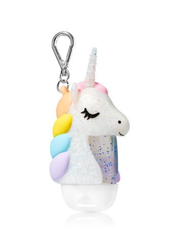 Personalized Unicorn Hand Sanitizer Birthday Party Favors Labels